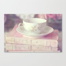 French Teacup Canvas Print