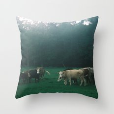 Cowz Throw Pillow