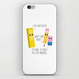 I Am Your Ruler iPhone Skin
