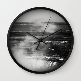 Horseshoe Falls Wall Clock