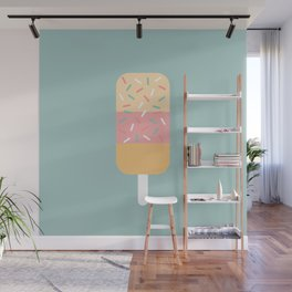 Popsicle (Mint) Wall Mural