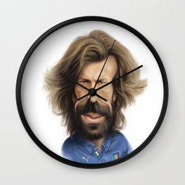 Andrea Pirlo - Italy Wall Clock