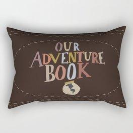 our adventure book Rectangular Pillow