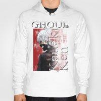 tokyo ghoul Hoodies featuring Kaneki Ken - Ghoul by 666HUGHES