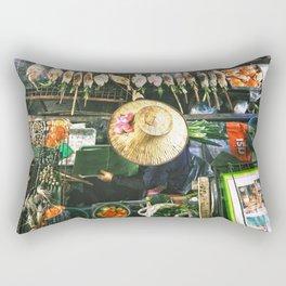 Bangkok Street Food Rectangular Pillow