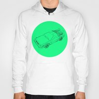 back to the future Hoodies featuring Back To The Future by Jesse Pinkman