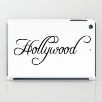 hollywood iPad Cases featuring Hollywood by Blocks & Boroughs