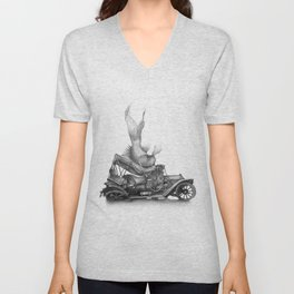 In which a goldfish spoils an outing Unisex V-Neck
