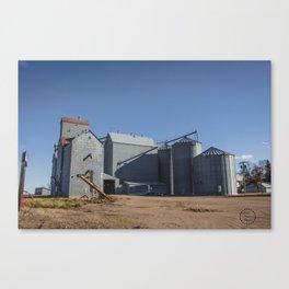 Elevators, Goodrich, North Dakota 1 Canvas Print