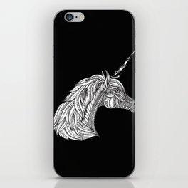 Unicorn Horse Lover Head Beautiful Blood Drawing iPhone Skin