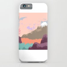 Pink Sky Mountain Slim Case iPhone 6s