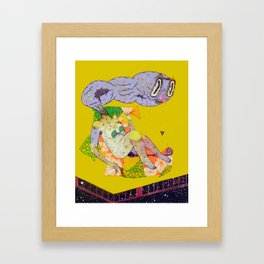remedy hentai Framed Art Print