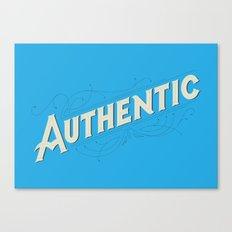 Authentic Canvas Print
