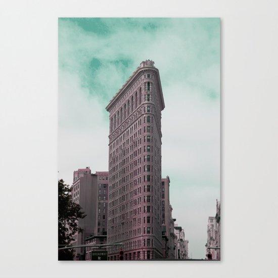Broadway Corner New York City Canvas Print