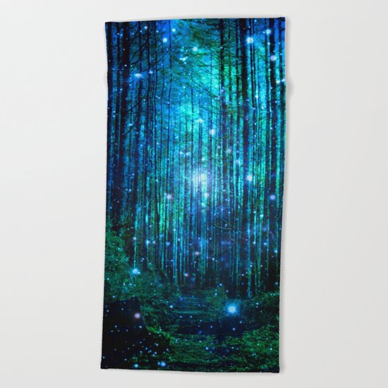 magical path Beach Towel