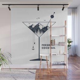 Fresh Air Cocktail Wall Mural
