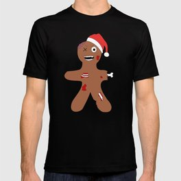 Zombie Gingerbread Christmas T-shirt