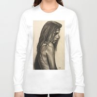 broken Long Sleeve T-shirts featuring Broken by Lindsey Gill Art