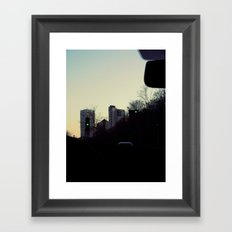 Joyride Framed Art Print