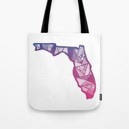 Home in Florida Tote Bag