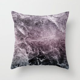 Enigmatic Dark Night Marble #1 #decor #art #society6 Throw Pillow