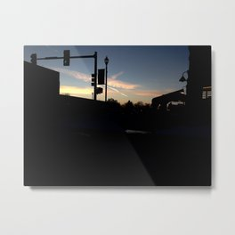 Traffic Lights Metal Print
