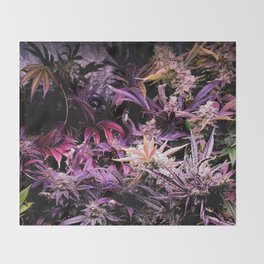 Wicked Garden Throw Blanket