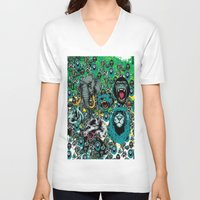 wildlife V-neck T-shirts featuring WildLife by John D'Amelio