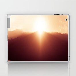 enjoying sunrise Laptop & iPad Skin