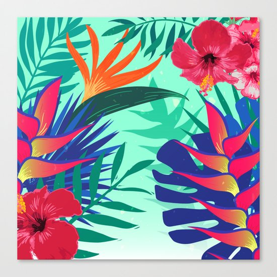 Tropical Pattern 6 Canvas Print