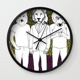 Animammals Wall Clock