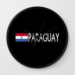 Paraguay: Paraguaya Flag & Paraguay Wall Clock