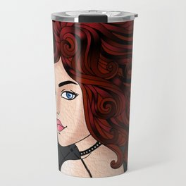 Goth Girl Travel Mug