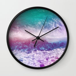 Infinite Waves and Endless Summers Wall Clock