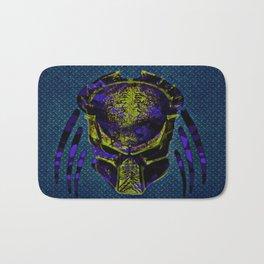 Soldier Predator Blue Yellow Bath Mat