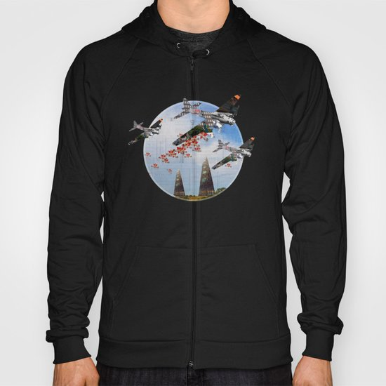 Surreal Living 35 · The Invasion · Crop Circle Hoody