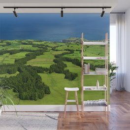 Typical Azores landscape Wall Mural