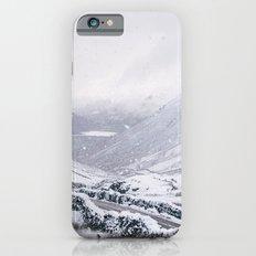 Heavy snow falling over the Kirkstone Pass. Cumbria, UK. iPhone 6s Slim Case