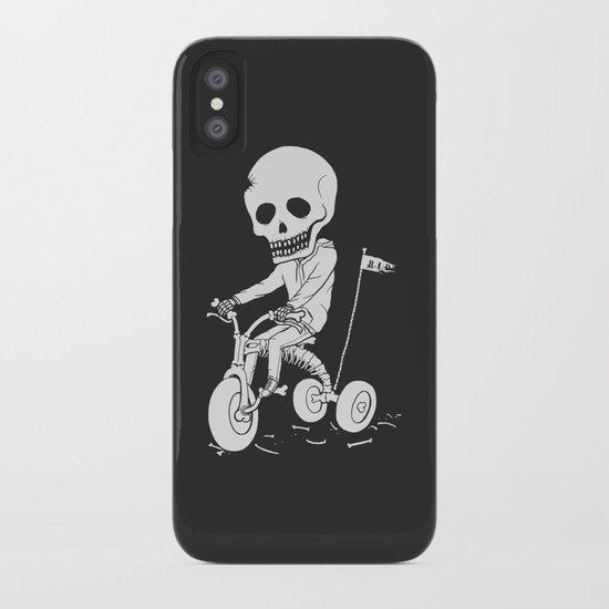 Death Kid Bone Ride iPhone Case