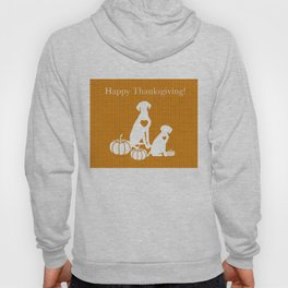 HAPPY THANKSGIVING WEIMARANERS Hoody