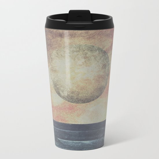 Restless moonchild Metal Travel Mug