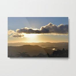 Sunrise over Coromandel Metal Print