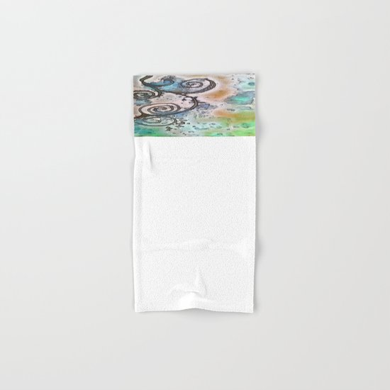 Vintage swirl Hand & Bath Towel