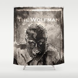 The Wolfman (1941) Shower Curtain