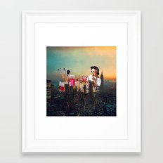 Urban Camouflage Framed Art Print