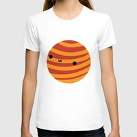 mars T-shirts featuring Mars by Sarah Crosby