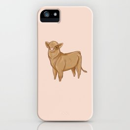 Baby Cow iPhone Case