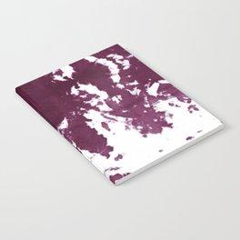 Velvet Kumo Shibori Plum Notebook