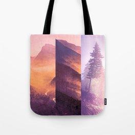 Fraction Tote Bag
