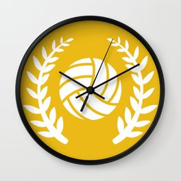 The Volleyball II Wall Clock